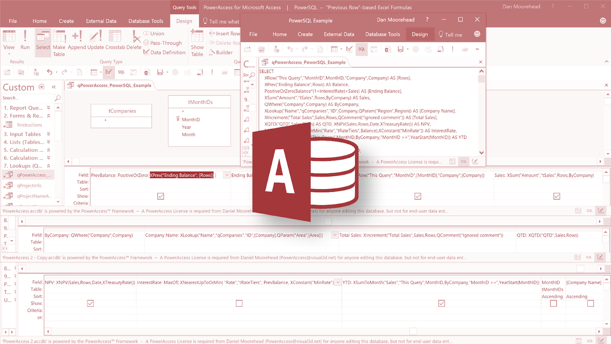 Aide-mémoire Microsoft Office Access