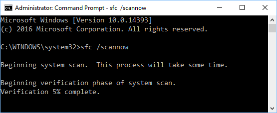 scannow sfc 3